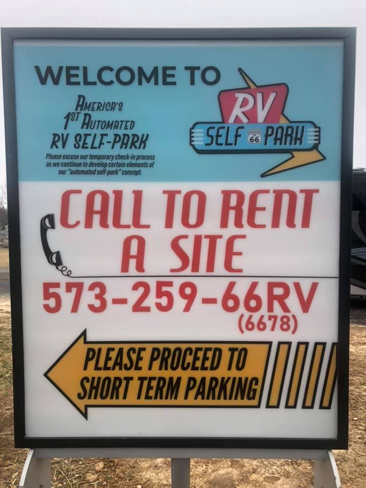 Automated RV Park Instructions