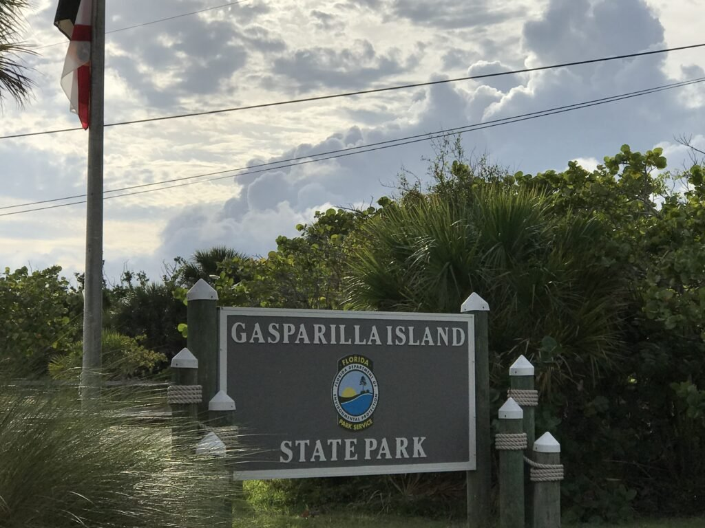 Gasparilla Island State Park where campers earn money as staff
