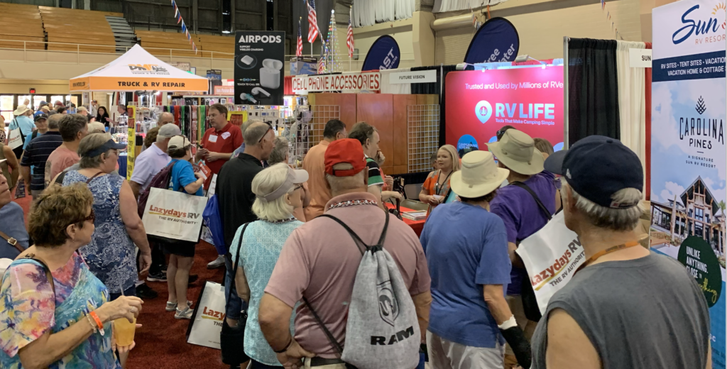 New RV Owners Looking for tips and advice attend the Florida SuperShow in Tampa